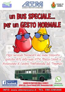 bus navetta donatori messina